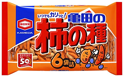 亀田製菓 亀田の柿の種 200g×6袋