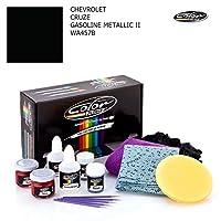 Chevroletシボレークルーズ/ GasolineメタリックII–wa457b /カラーNドライブタッチアップペイントシステムペイントチップスクラッチ/基本パック