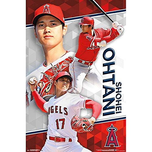 SHOHEI OHTANI 大谷翔平 - Los Angeles Angels/ポスター 【公式/オフィシャル】