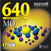 日立マクセル 640MB MOディスク 1枚入り MA-M640.A1P