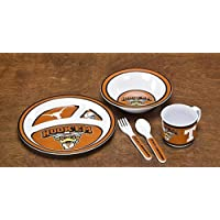 High QualityA Texas Longhorns 5-Piece Kids' Dish Set