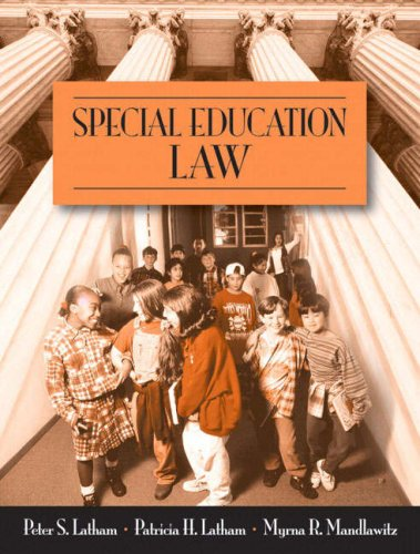 Download Special Education Law 0205479758