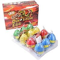 恐竜のたまご 水に入れて育てる恐竜 恐竜のタマゴ 卵 おもちゃ 景品 子供 イベント 子供会 お祭り 縁日 玩具 夏祭り (12個セット) (1)