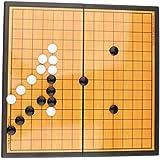 SM SunniMix チェス盤 五目並べ ボードゲーム チャスセット 折りたたみボード 玩具 知能開発 収納便利