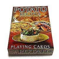 Potato Recipes Playing Cards–54のデッキカード