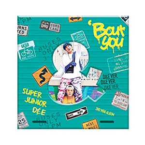 スーパージュニア D&E - Bout You (2nd Mini Album) [D&E ver.] CD+Photobook+Folded Poster [KPOP MARKET特典: 追加特典フォトカードセット] [韓国盤]