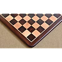 Chessbazaar Wooden Chess Board Dark Brown Rose Wood 20