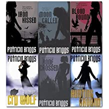 Patricia Briggs Collection 6 Books Set, (Cry Wolf, Hunting Ground, Iron Kissed, Bone Crossed, Blood Bound and Moon Called)