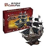 The Queen Anne's Revenge 3D Puzzle by Cubic Fun [並行輸入品]