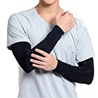 IZAP ロング アーム サポーター 男 女 兼用 タトゥー 入れ墨 刺青 隠し UV 対策 ガード 防寒対策