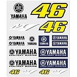 VR46 (正規輸入品) Valentino Rossi(バレンティーノ・ロッシ)YAMAHA ファクトリーレーシング ステッカー YDU-ST273503