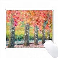 アメリカ、カリフォルニア州。ナパバレーの樹木の概要。 PC Mouse Pad パソコン マウスパッド