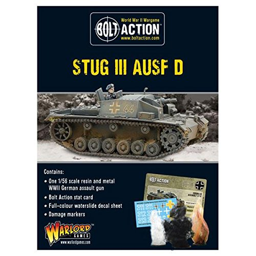 Warlord Games , Early Stug III Ausf D、ボルトアクションWargamingミニチュア
