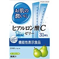 アース・バイオケミカル お肌の潤いにヒアルロン酸Cゼリー 31本入 [機能性表示食品]