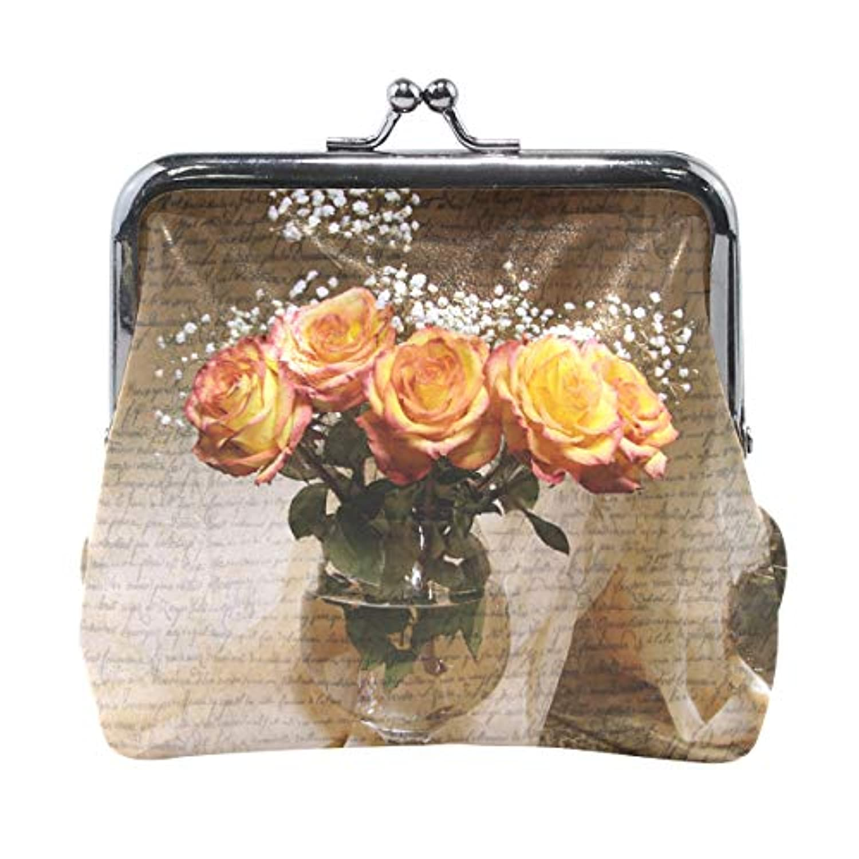 がま口 財布 口金 小銭入れ ポーチ 花 手紙 Jiemeil バッグ かわいい 高級レザー レディース プレゼント ほど良いサイズ