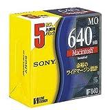 SONY 3.5型 MOディスク 5枚 640MB Macintoshフォーマット 5EDM-640CMF