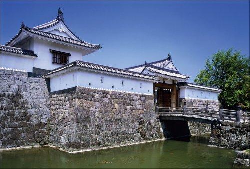 PT-009 駿府城 「日本の名城 - 緑」ポストカード