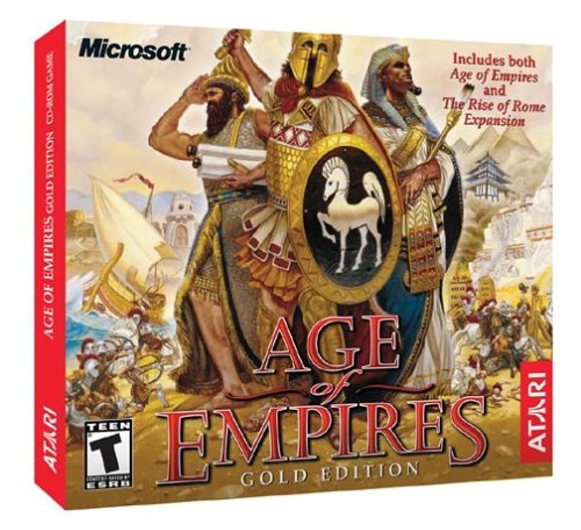 コテージ時間厳守メインAge of Empires Gold (Jewel Case) (輸入版)