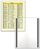 """StoreSMART–磁気フレーム–リジッドプラスチック–100枚パック–81/ 2"""" x 11""""–Lean / 5s / Six Sigma ( hpp812X 11m-lean-100)"""
