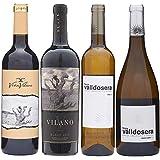 【 ソムリエ厳選 希少 スペイン ワイン セレクト 】 4本 セット 赤ワイン 白ワイン 辛口 750ml 1A