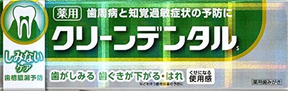 ドールくびれた精通した第一三共ヘルスケア クリーンデンタルSしみないケア 50g 【医薬部外品】