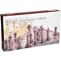 Woody Magnetic Travel Chess Set