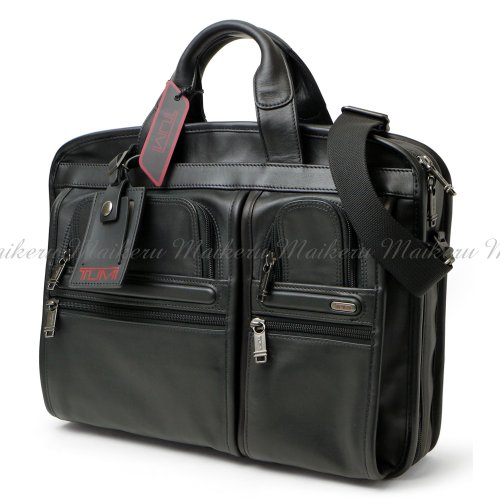 TUMI (トゥミ) T-Pass Medium Screen Laptop Slim Brief Bag 96516D4 / ミディアム・スクリーンPC収納対応 スリム ブリーフ バッグ【並行品】 ビジネスバッグ ブリーフバッグ 本革 レザー