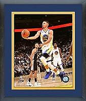 Stephen Curry Golden State Warriors Nbaアクション写真(サイズ: 26.5CM x 30.5CM )フレーム