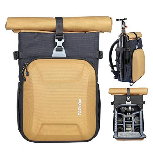 TARION XHカメラバッグ バックパック 一眼レフ DSLR SLR ケース リュック 撮影専用バッグ 大容量 最新デザイン おしゃれ カメラリュックサック