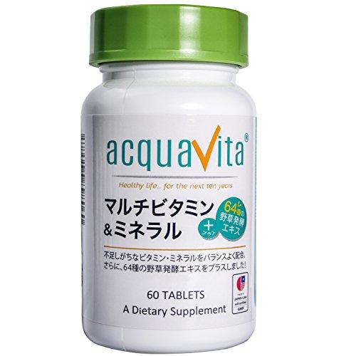 acquavita(アクアヴィータ) マルチビタミン&ミネラ...