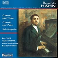 Reynaldo Hahn, Vol. 1: Oeuvres Concertante by Clavier (2013-05-28)