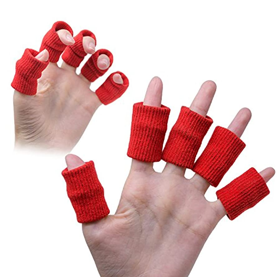 スポークスマンクレジット伝導率Sumifun 親指プロテクター 足指チューブ ? ゲルプロテクター ケア指スリーブ&指先保護は関節炎、硬さ、痛みを緩和する