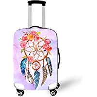 OSVINO Dream Catcher Elastic Washable 18-28 Inches Suitcase Protective Cover