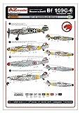 AZモデル 1/72 Bf109G-6 ドナウ川流域国 プラモデル用デカール AZMA7030