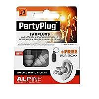 Alpine PartyPlug |再利用可能なHearing Protectionアコースティック耳栓シルバーグレー