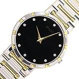 (ピアジェ)PIAGET 時計 ダンサー 84023 K 81 ブラックダイアル 12Pダイヤインデックス YG WG クォーツ メンズ 中古 コンビ ウォッチ 金無垢 PIAGET [並行輸入品]