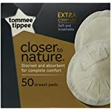 TOMMEE TIPPEE Disposable Breast Pads (Pack Of 50)