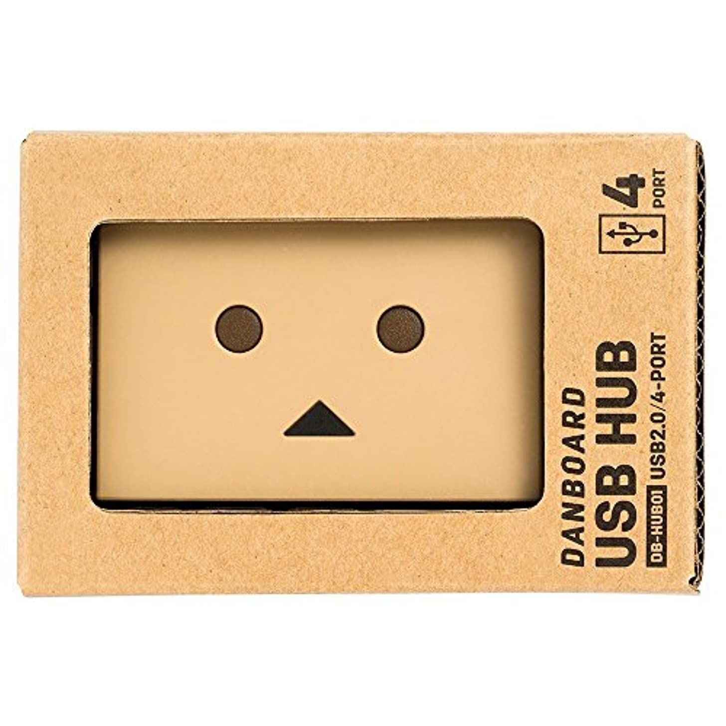 彫刻トロイの木馬ホールドオールPLANEX ダンボーUSBハブ DB-HUB01 バスパワー USB2.0 4ポート