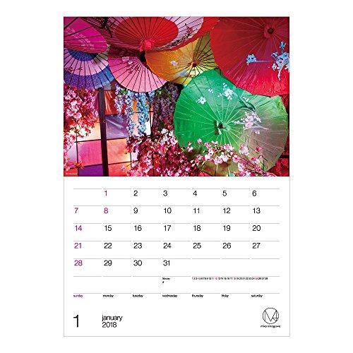 アートプリントジャパン 2018年 M / mika ninagawaカレンダー No.060 1000093393
