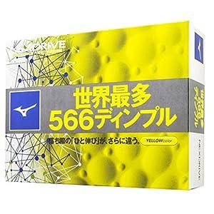 MIZUNO GOLF (ミズノゴルフ) ゴルフボール ネクスドライブ ゴルフボール 12P 5NJBM3285012P イエロー(50)