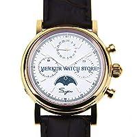 Hongkong Sugess メンズ レトロ 機械式クロノグラフ腕時計 Seagull 1963 ドレスムーンフェーズ