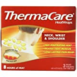 ThermaCare Airactivated Heatwraps Neck Wrist & Shoulder Pack Of 6 3 Heatwraps Per Pack