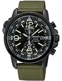 セイコー GENUINE SEIKO Watch SOLAR PILOT Male - SSC137P1 男性 メンズ 腕時計 【並行輸入品】