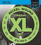 D'Addario ダダリオ ベース弦 ニッケル Long Scale 5弦 .045-.135 EXL165-5 【国内正規品】
