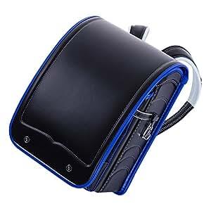 ふわりぃランドセル A4大型ワイド クラリーノF コンビカラー 男の子向き 03-97201 ブラック×ロイヤルブルー