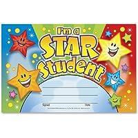 T-81019 トレンド I'm a Star 学生認識賞 - 8.50インチ x 5.50インチ - マルチカラー