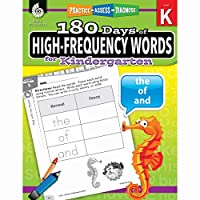 180 Days of High-frequency Words for Kindergarten: Practice, Assess, Diagnose (180 Days of Practice)