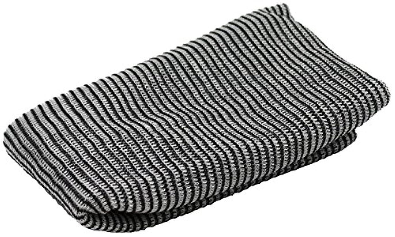 二層共感する開いた小久保 『少量の石けんでもたっぷり泡立つ』 ガチMENボディタオル 約20×110cm 3566