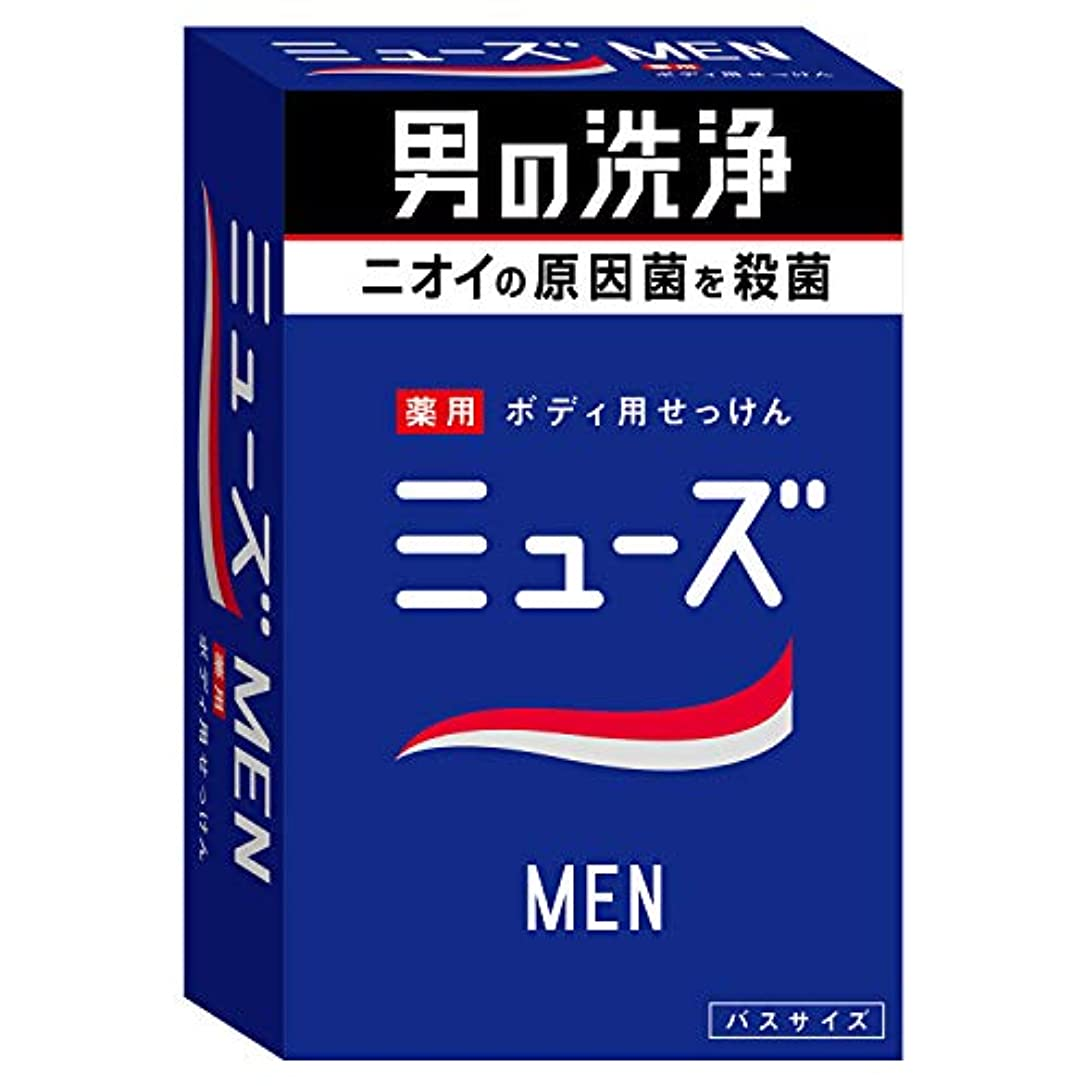 上回る報復クリップ【医薬部外品】ミューズメン 石鹸 135g
