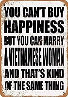 ベトナム人女性と結婚できる 金属板ブリキ看板警告サイン注意サイン表示パネル情報サイン金属安全サイン